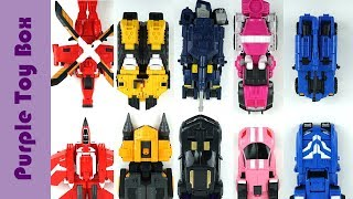 Download Mp3 Mini Force X 5 Combined And 4 Combined Transformer Robot 미니특공대x 4단 5단
