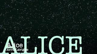 Alice (Extended Version) Audio Avril Lavigne HD