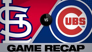 Davis, Baez power Cubs to 6-5 win