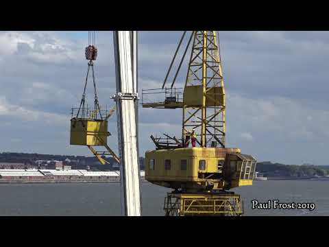 Dismantling 60 year old Cranes ( Extended )