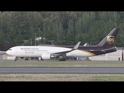 Heavy Evening UPS Activity @ Boeing Field