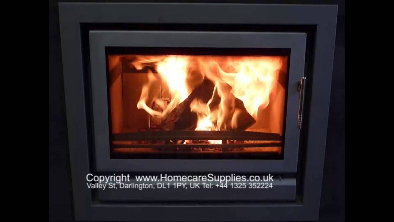 Stovax Riva 66 Inset Woodburning Stove with Defra Approved Smoke ...