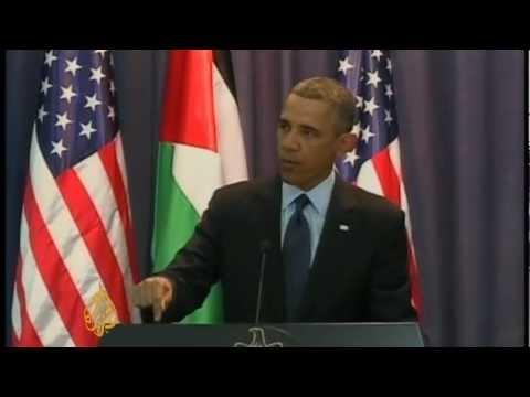 Obama Talks Palestine With Israeli Students