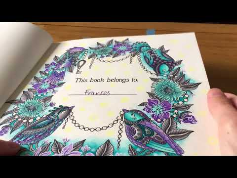 Completed Colouring Book Pictures Part 2