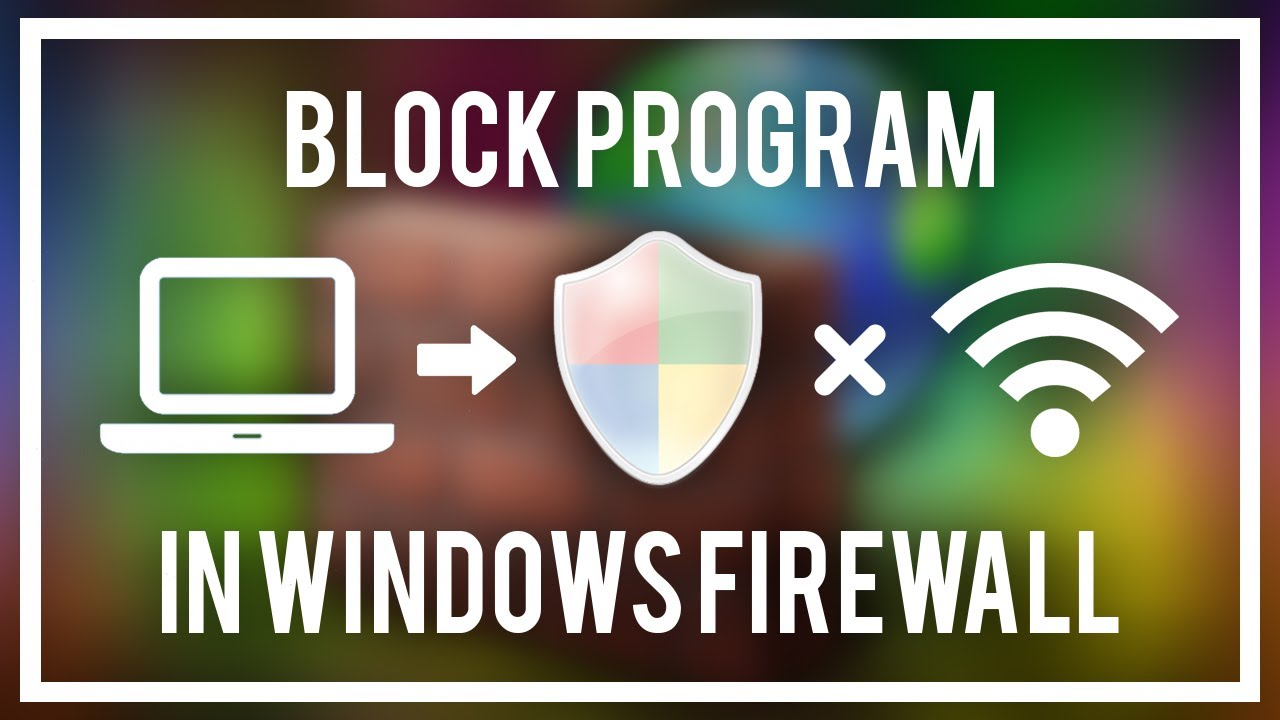 how to cancel firewall block