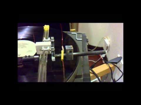 DIY Linear tonearm
