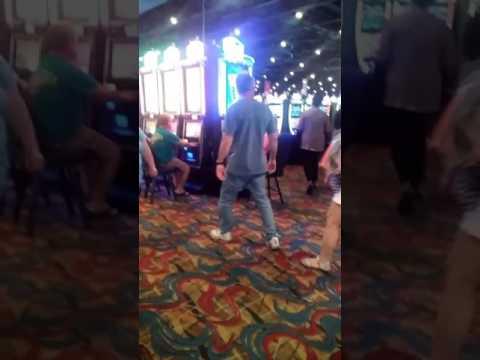 Ho chunk Madison wi walk around casino.