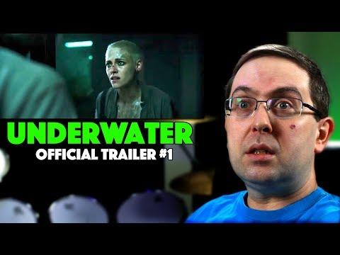 REACTION! Underwater Trailer #1 – Kristen Stewart Movie 2020