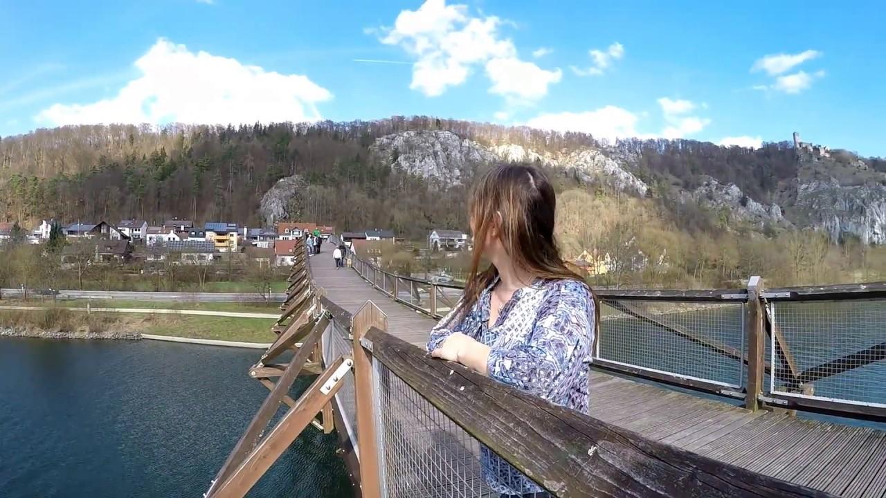 Essing im Altmühltal - Burg Randeck, Blautopf und Tatzelwurm - YouTube