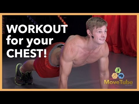 Chest Workout with Brandon Jones!