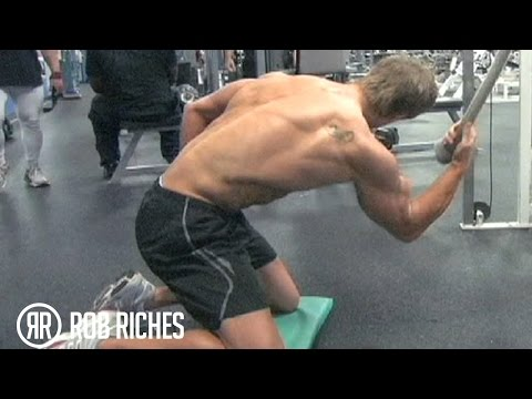 Get That Lower V-Cut In Your Abs (Rob Riches)