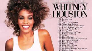 Best Songs of World Divas Whitney Houston - Greatest Hits Whitney Houston Playlist 2020