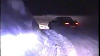 クローズドコース 雪道ドリフト 全開でインプレッサを猛チャージ!!