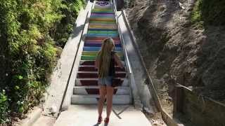 Test Footage Canon G7x featuring Beholder MS1 Camera Stabilizer 2.0 Silver Lake Stairs
