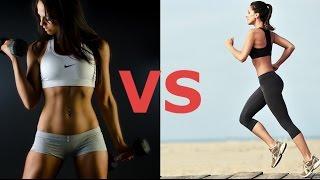 Кардио или силовая тренировка для похудения  Что лучше выбрать(Кардио или силовая тренировка для похудения Что лучше выбрать Сегодня поговорим о том, что лучше выбрать..., 2016-03-31T14:30:00.000Z)