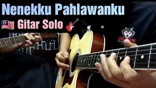 Wali Band🇲🇾-Nenekku Pahlawanku cover gitar solo chord