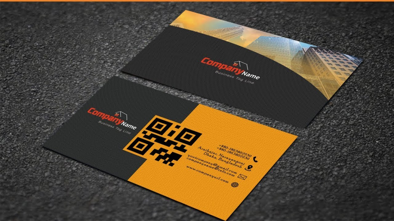 How to create corporate business card in photoshop adobe photoshop how to create corporate business card in photoshop adobe photoshop cs6 tutorial reheart Gallery