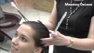 Восстановительный уход  за волосами FIRE CUT в салоне красоты