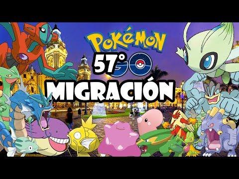 ¡57° MIGRACIÓN DE HOEN! LOS MEJORES NIDOS DE LIMA - PERÚ! | Pokemon GO thumbnail