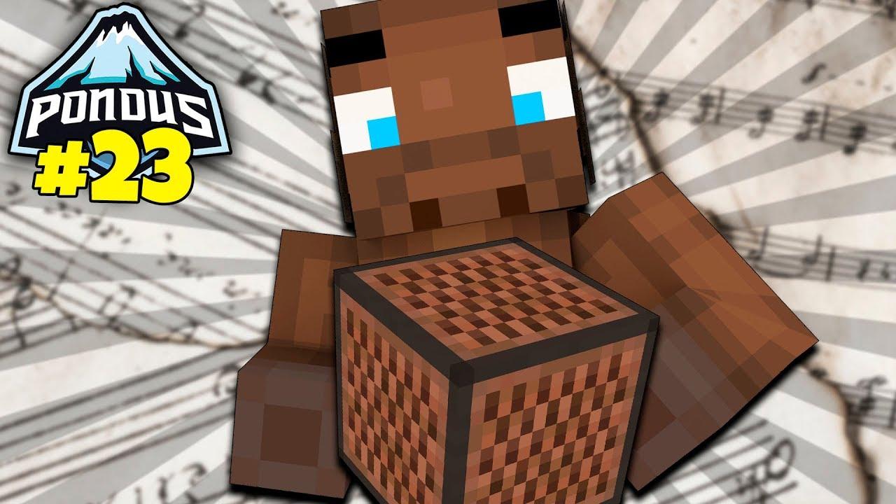 Dansk Minecraft Pondus++ #23 - MUSIK ELGEN