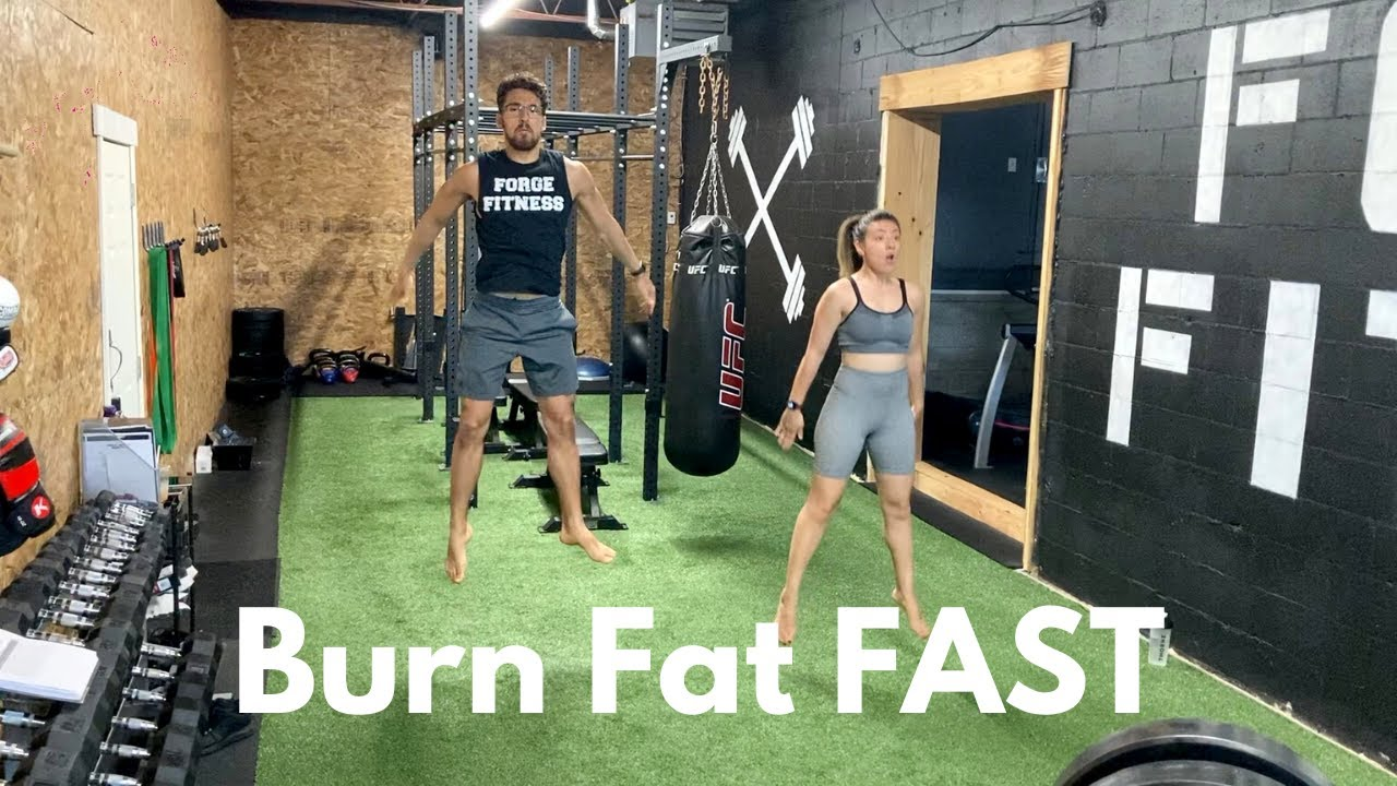 BURN FAT FAST.....(Follow Along Bodyweight H.I.I.T Workout)