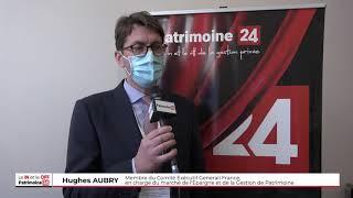 Interview de Hugues AUBRY, membre du Comité Exécutif Generali, Epargne et Gestion de Patrimoine