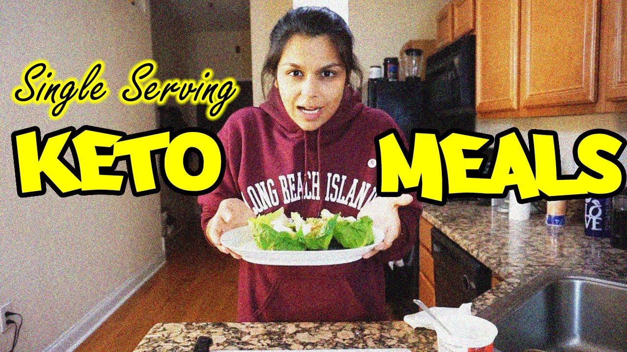 Easy Keto Recipes 3 Night Single Serving Keto Dinner Plan