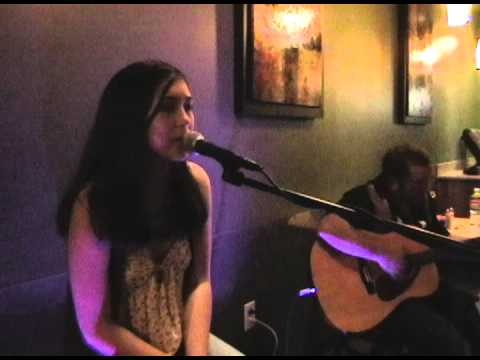 Maddy's Performance at Thai Spice: Anticipation (cover)