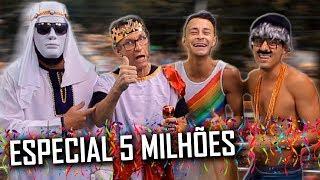 UNIDOS DO CRAQUE NETO - ESPECIAL 5 MILHÕES DE INSCRITOS