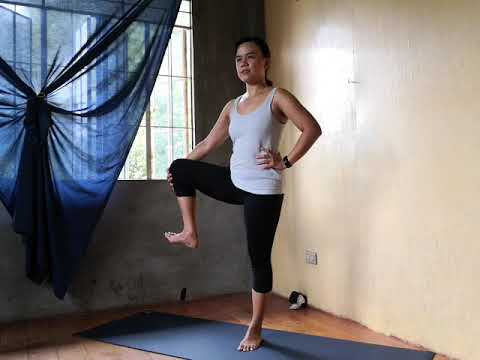 how to extended hand to big toe pose  intermediate yoga