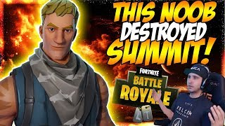"FORTNITE NO SKIN DESTROYED SUMMIT WITH ONE SHOT! | ""Best Of Reddit Ep.1"""