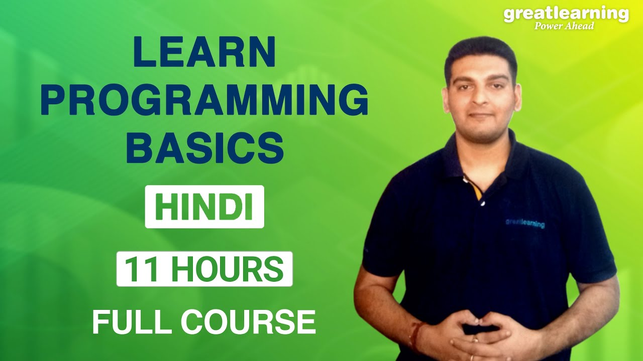 Learn Programming Basics   Programming Tutorial for Beginners