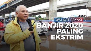 Banjir Rendam Sejumlah Daerah di Bekasi, Wali Kota Bekasi: Banjir 2020 Paling Ekstrim