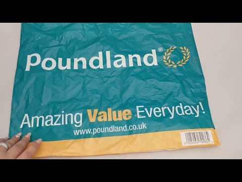 Huge Poundland Haul September 2017