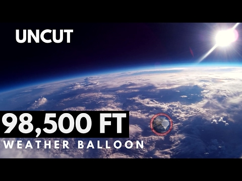 GoPro Weather Balloon to Space | Full Uncut | OLHZN-3
