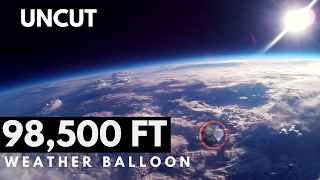 GOPRO WEATHER BALLOON TO SPACE Full Uncut Footage