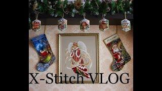Вышивка крестом. Cross Stitch VLOG (процессы, авторские схемы, журнал, книги и др)