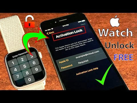 Remove An Unlock Apple Watch Series 5/4/3/2/1 || Activation Lock ICloud All WatchOS 100% Done 2020