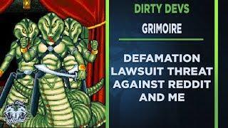 Dirty Devs: Grimoire Developer Threatens Defamation Lawsuit