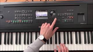 Yamaha DGX 670 All Playing Demo, No Talking Demonstration Klänge und Sounds Teil 2