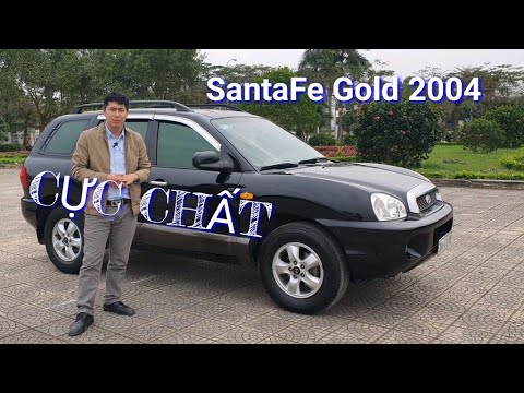 Về Tiếp Hyundai Santa Fe Gold 2004 Máy Dầu Số Tự động Cự Chất