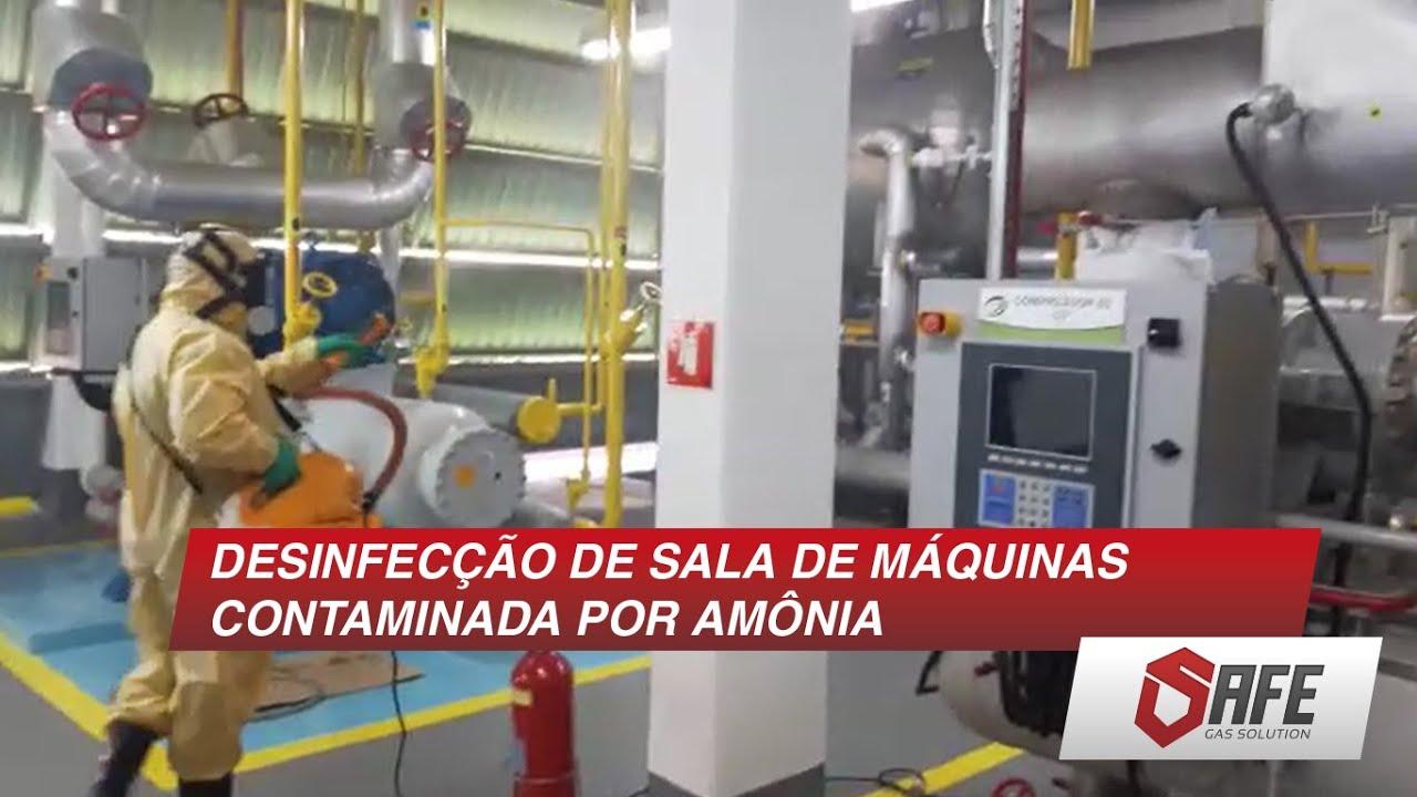 [DESINFECÇÃO DE AMBIENTES] Safe Compact System