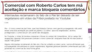 Comercial com Roberto Carlos tem má aceitação