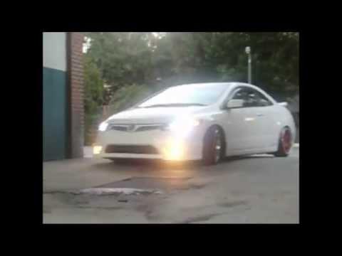 Josh Slammed 06 Honda Civic Si