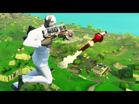 SPIDERMAN SİLAHI ROKETE TUTUNABİLİR Mİ? (Fortnite)