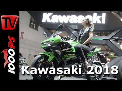 Kawasaki Motorcycles 2018 - Ninja 400, Z900RS Cafe, Ninja H2 SX