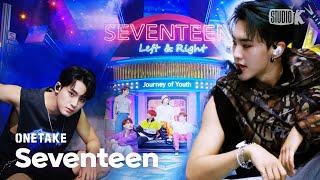 Gambar cover [4K 원테이크] 세븐틴 'Left & Right' SEVENTEEN 4K Bonus Ver. @뮤직뱅크(Music Bank)