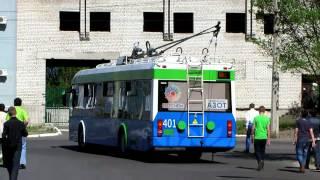 Автономный ход троллейбуса Северодонецк