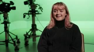 Maisie Williams visits Solent University