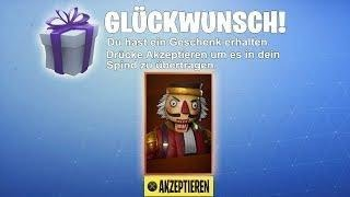 Skins FREE POSSIBLE ! OMG COMES ALL !!!!!!!! ICh VErschenke MORGEN SKINNS ! Fortnite LIve DEu